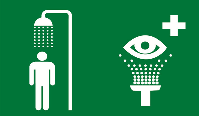 How to Use a Safety Shower to Avoid Sudden Eye Injury during Field Operations?